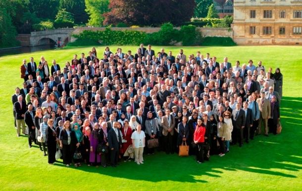 Spot TheGreenBush: 3rd Gulf Research Meeting, University of Cambridge, July 2012